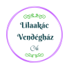 Lilaakác Vendégház Logo